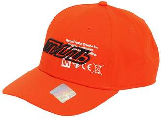 Heron Preston Logo Embroidered Cotton Baseball Cap