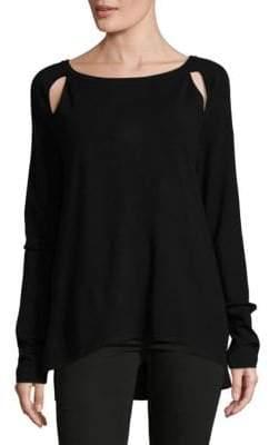 NYDJ Long-Sleeve Cutout Sweater