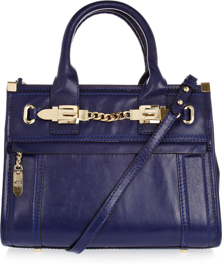 Milly Victoria Medium leather tote