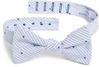 Southern Tide Charleston Dot Cotton & Silk Bow Tie