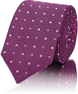 Barneys New York Men's Dotted Silk Necktie