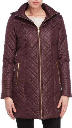 Via Spiga Quilted Lightweight Coat