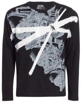 PRPS Graphic Long-Sleeve Cotton Tee