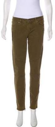 Paige Denim Mid-Rise Skinny Jeans w/ Tags
