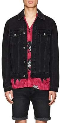 Ksubi Men's Classic Distressed Denim Jacket