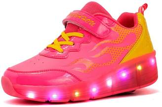 Heelys CPS Kids Adults LED Light Up Sneakers Wing Single Wheels Roller Skate Shoes (3.5 M US =CN35, )