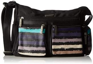 Little Marcel Ol02, Women's Cross-Body Bag, Multicolore (Paint), (W x H L)