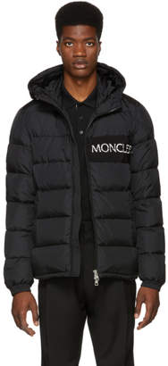 Moncler Black Down Aiton Jacket