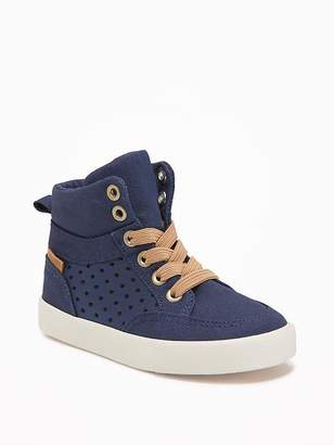 Old Navy Perforated High-Tops For Toddler Boys