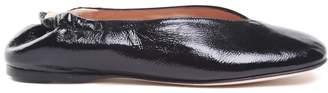Acne Studios Odry Leather Ballet Flats