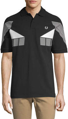 Fred Perry Stripe Graphic Polo Shirt