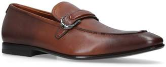 Salvatore Ferragamo Leather Carlo Loafers