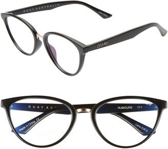 Quay Rumors 47mm Blue Light Blocking Optical Glasses