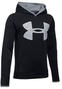 Under Armour Boys Fleece Big Logo Hoodie