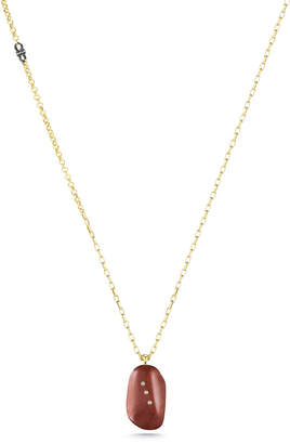 Paige Novick Gem Story Red Jasper Pendant Necklace