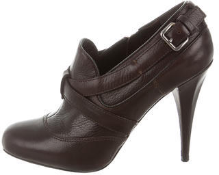 Miu MiuMiu Miu Leather Ankle Boots