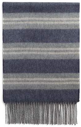 Bloomingdale's The Men's Store at Striped Cashmere Scarf - 100% Exclusive
