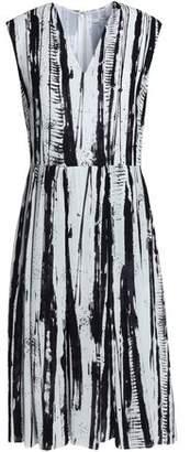 Dagmar House Of Pleated Printed Georgette Dress
