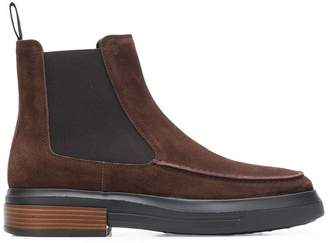 Tod's almond toe ankle boots