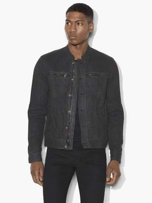 Oil Dyed Denim Inspired Jacket $428 thestylecure.com
