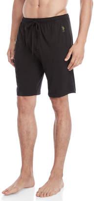 U.S. Polo Assn. Drawstring Knit Sleep Shorts