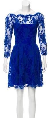 Issa Lace Mini Dress