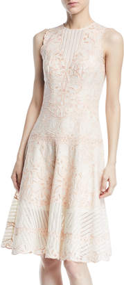 Jonathan Simkhai Embroidered Cutout Dress