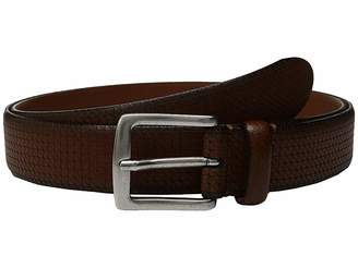 Johnston & Murphy Cross Hatch Laser - Cut Belt