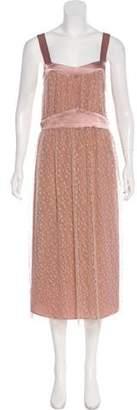 Jenni Kayne Shirring Lace Dress
