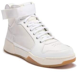 G Star Mesh Leather Hi-Top Sneaker