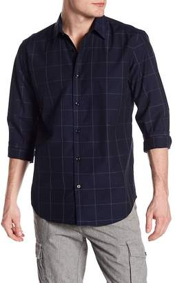 Theory Clean Windowpane Modern Fit Shirt