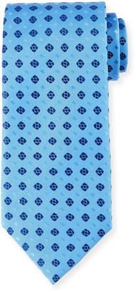 Charvet Neat Squares Silk Tie