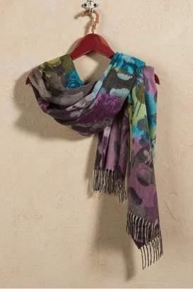 Soft Surroundings Winter Floral Scarf