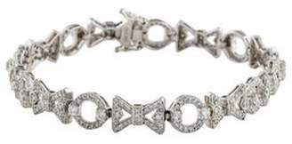 Xo 14K 2.31ctw Diamond Link Bracelet white 14K 2.31ctw Diamond Link Bracelet