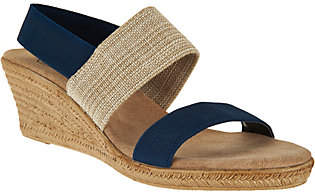 Co Charleston Shoe Colorblocked Wedge Sandals- Cooper