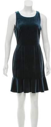 Rebecca Minkoff Velvet Sleeveless Dress