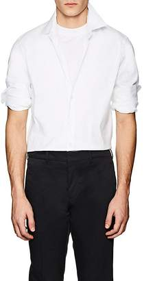 Prada Men's Cotton-Blend Slim Shirt