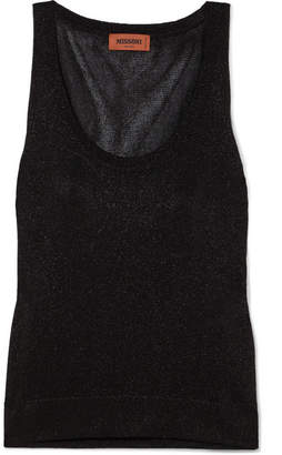 Missoni Lurex Tank - Black