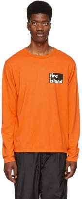 Bianca Chandon Orange Tom Bianchi Edition Fire Island T-Shirt