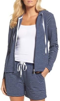 Women's Lauren Ralph Lauren Lounge Hoodie $64 thestylecure.com