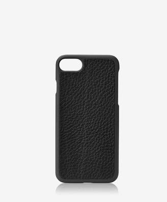 GiGi New York iPhone 7 Hard-Shell Case, Black Pebble Grain