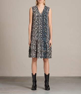 AllSaints Enber Juba Silk Dress