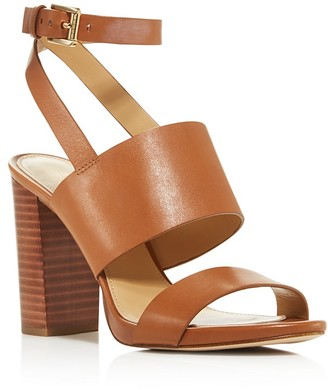 MICHAEL Michael Kors Arden High Block Heel Sandals - 100% Exclusive $140 thestylecure.com