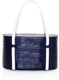 Pop & Suki Lolita Croc-Embossed Leather Bag