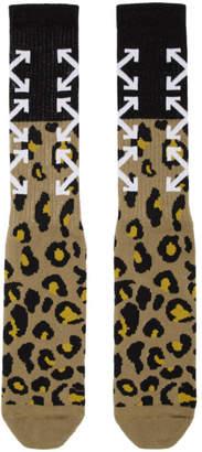 Off-White Off White Multicolor Arrow Socks