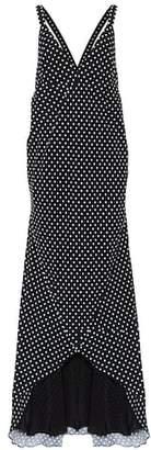 Haider Ackermann Polka-dot maxi dress