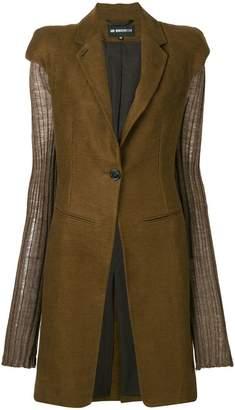Ann Demeulemeester short sleeved coat
