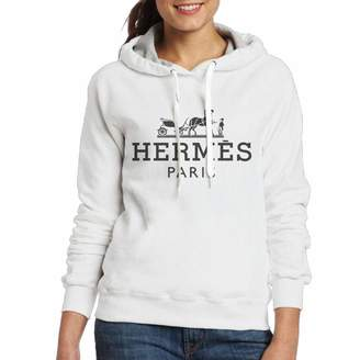 Hermes Purpubble Women's Hipster Fashion Sweatshirt M