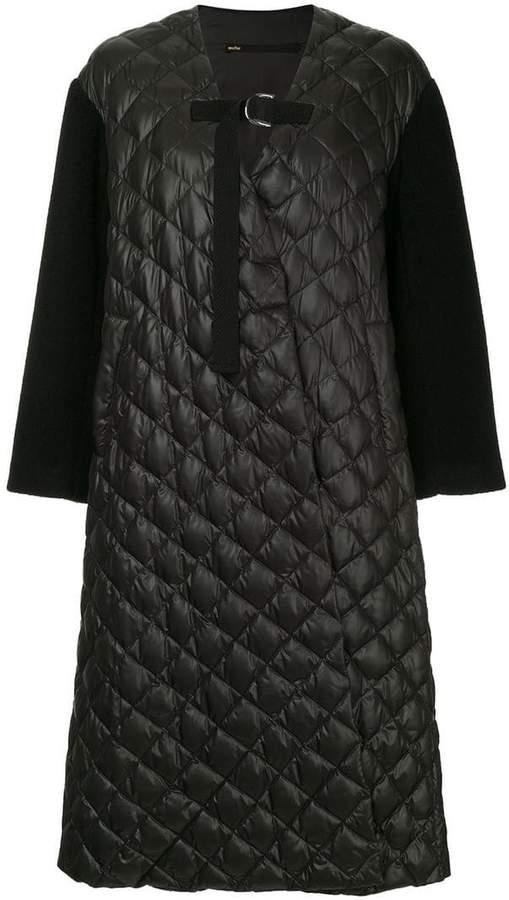 Muller Of Yoshiokubo Ben quilted oversized coat