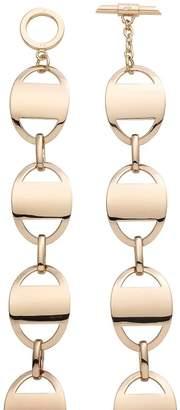 Amanda Wakeley Curved Rose Gold Necklace